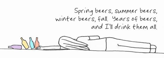 Seasonal Beer Haiku