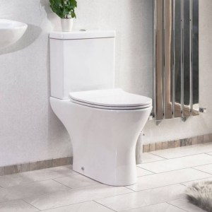 Valentina Close Coupled Toilet from Drench projects about 24""