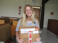 My package from Alicia!
