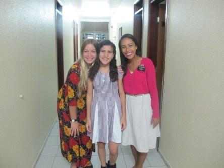 Cute Samara on her baptism day!