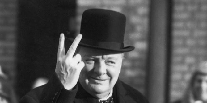 Winston Churchill Going through Hell