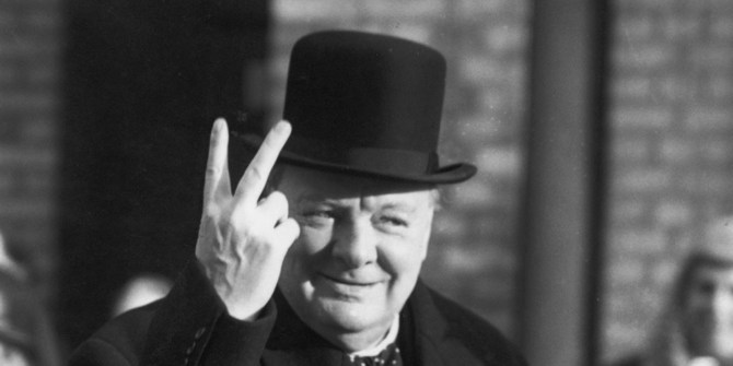 Winston Churchill Going through Hell
