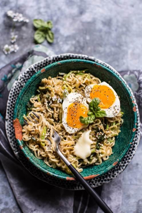 Garlic Butter Ramen Noodles