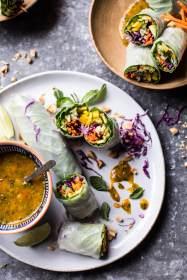 Avocado & Veggie Spring Rolls