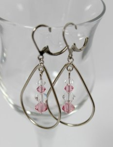 Teardrop Earrings for Cover Reveal Giveaway