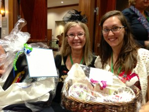 Emerald City Writers' Conference raffle basket winners