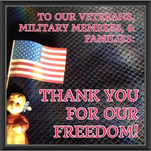 SALUTE TO OUR VETERANS!