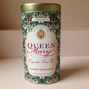 Cherry Marzipan Tea from Queen Mary Tea Room, Seattle, Washington