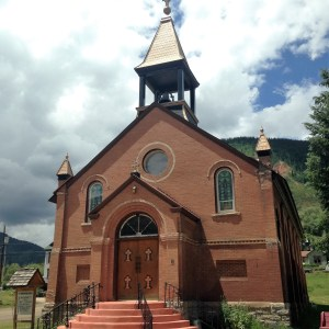 St. Patrick's Catholic Church, Silverton, Colorado 1905