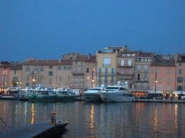 Saint Tropez at dusk