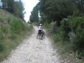 The gravel track