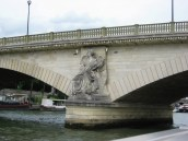 Paris - Bridge over the Seine - detail