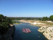 Pont du Gard - from mid span