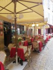 Not so busy Sarlat cafe
