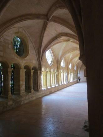 Abbaye de Valmagne - the cloisters