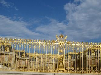 Versailles front gates