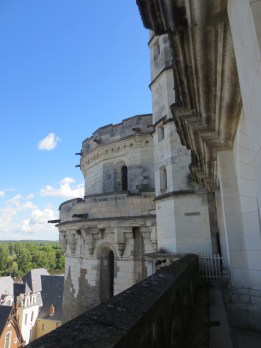 A view from Chateau Royal d'Amboise
