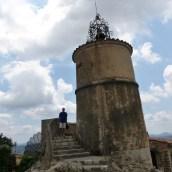 Phil descending the Belltower