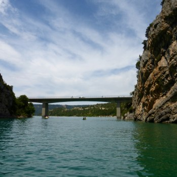 Heading towards the Pont de Galetas