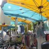 Umbrella colour in Le Muy