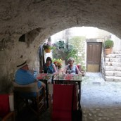 Lunch at the cave-like Artisan - very cool!