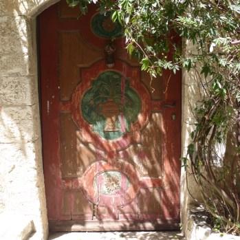 Dappled light on a lovely old door