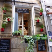 Delightful Antibes shop facade
