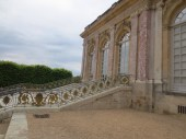 Beautiful stairway at the Grand Trianon.