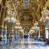 The Grand Foyer -Palais Garnier Opera house