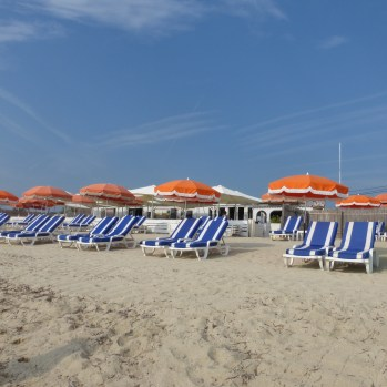 Beach club on Pampelonne