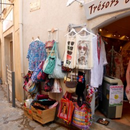 Saw several little shops like this bursting at the seams with merchandise