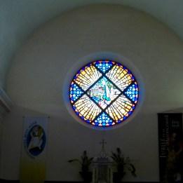 Beautiful window in the church