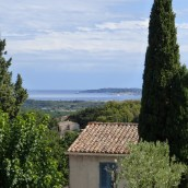 View out towards St Tropez