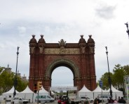 Arco de Triunfo, built for the 1888 Barcelona World fair
