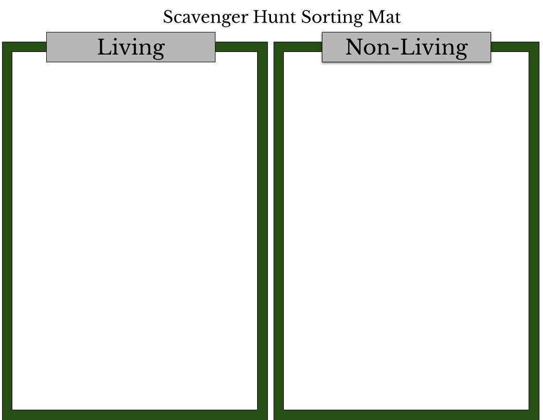 Sheriff S Meadow Scavenger Hunt Worksheet 1