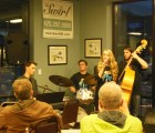 Amazing Mt Si High Scool students: Max Cannella Quartet at Swirl