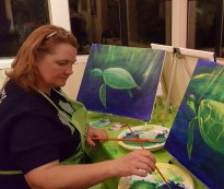Tracy painting