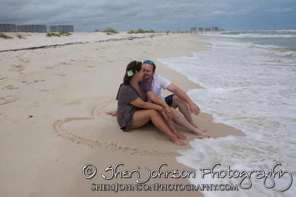 Orange Beach Engagement