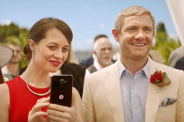 WATCH: Martin Freeman Stars In Three New Hilarious Vodafone UK Ads