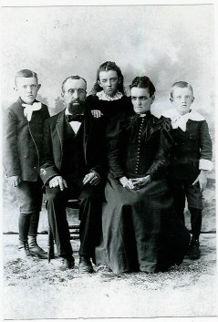 Ansel Syphers 2nd family