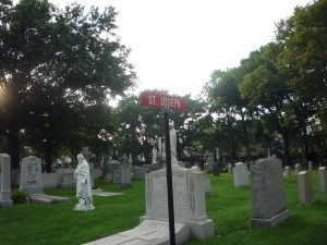 St Joseph's section of Holy Cross Cemetery
