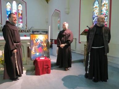 The Friars around the image