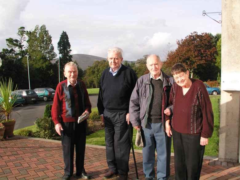 Bill, Fr Ciiaran Needham, Fr Leo and my mother. RIP all!