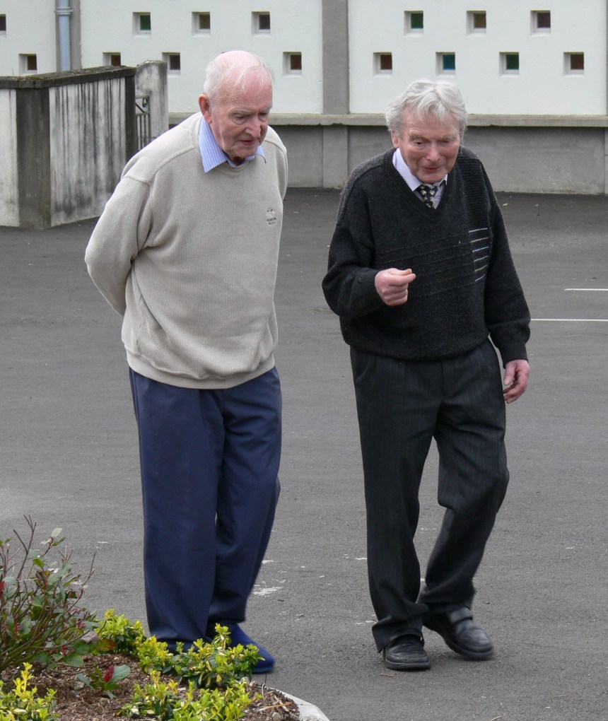 A sharing that lasted for decades. Leo and Bill, R.I.P.