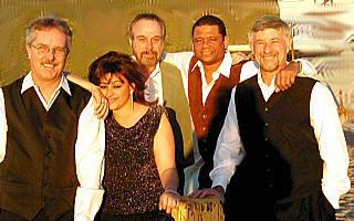 Richard Sherman with Maria Jacobs, Jay Burrid, Bobby Tynes, and Jack Bone