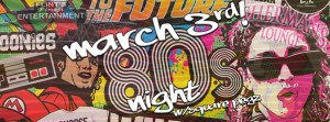 80's Night - Square Pegz @ Sherman's Lounge | Flint | Michigan | United States