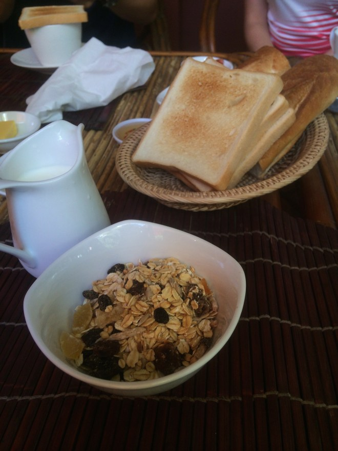 Breakfast at Baphuon Villa