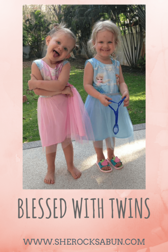 My precious twins are 3 years old! Being a parent to twins is tough, but I am incredibly fortunate for having these little ladies in my life. #twins #motherhood #momoftwins #parenting #family #sherocksabun