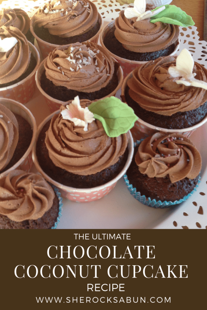 The ultimate chocolate coconut cupcake recipe