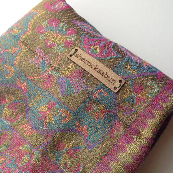 Forest florals pocket scarf by sherocksabun